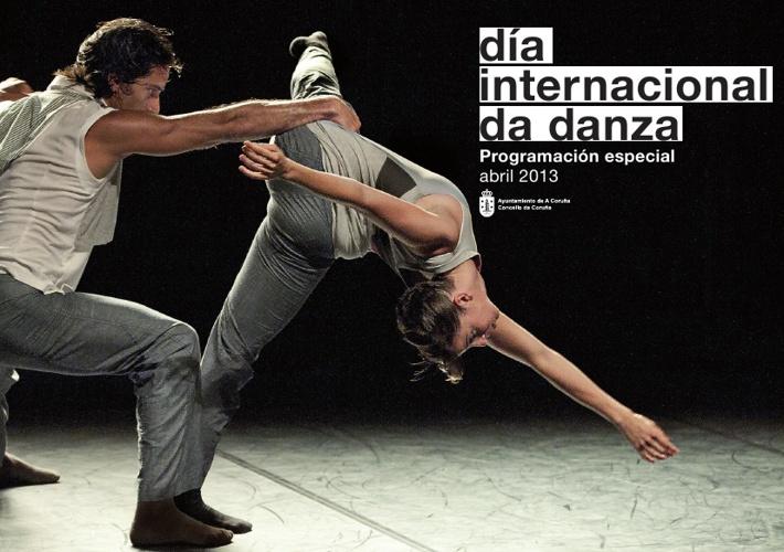 Día internacional de la danza. A Coruña 2013