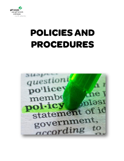 Policies, Procedures and Special Circumstances