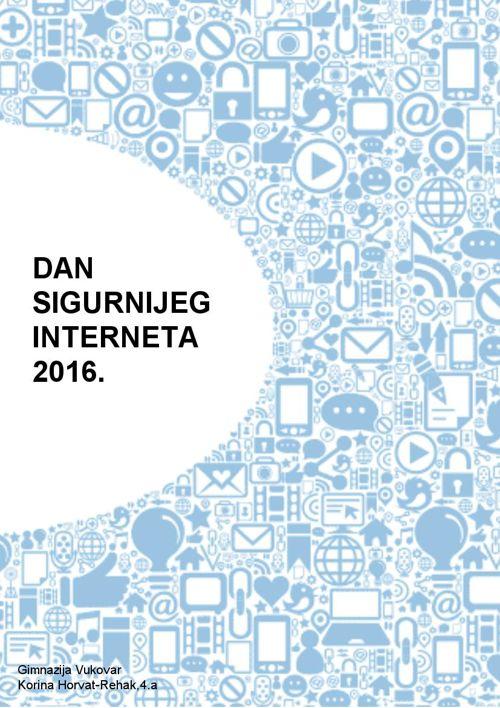 Dan sigurnijeg interneta 2016.