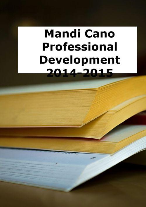 Professional Development 2014-2015