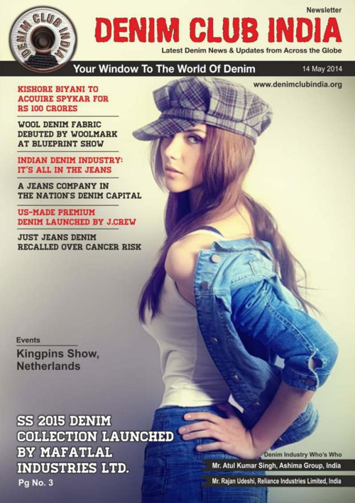 Denim Club News Letter 14 May 2014