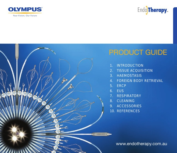 Olympus EndoTherapy Product Guide