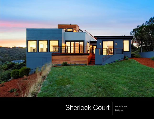 Sherlock Court - Los Altos Hills - James Shin Photo Book