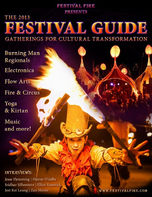 2013 Festival Guide by Festival Fire