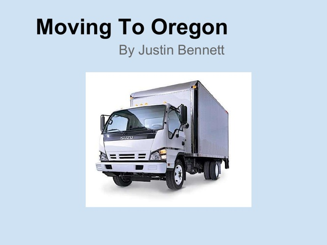Moving To Oregon