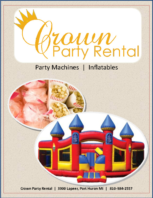 Crown Party Rental - Inflatable & Party Machine Catalog