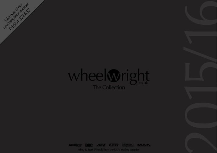 Wheelwright 2015 Alloy Wheel Catalogue