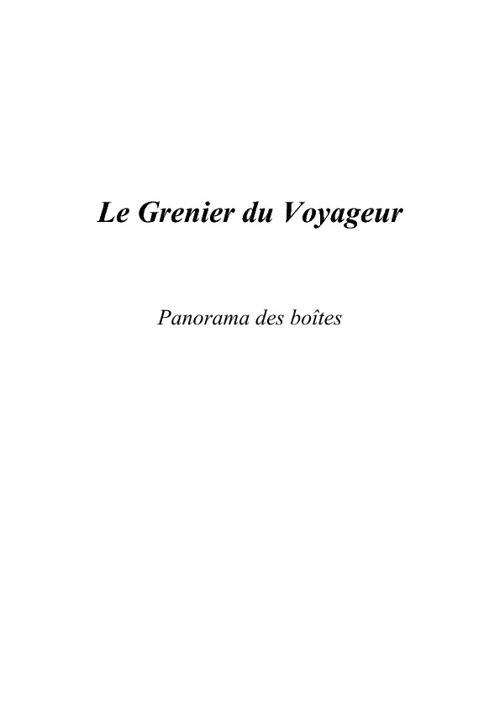 Copy of Panorama des boîtes