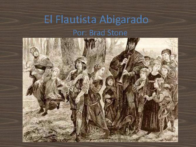 El Flautista Abigarado