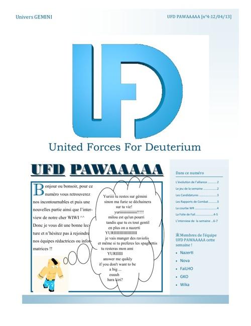 Journal UFD numéro 4