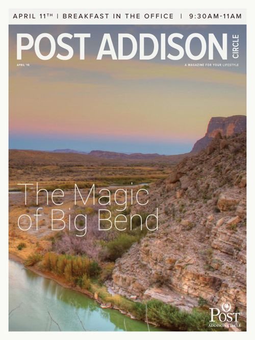 April 2015 Post Addison Circle Newsletter