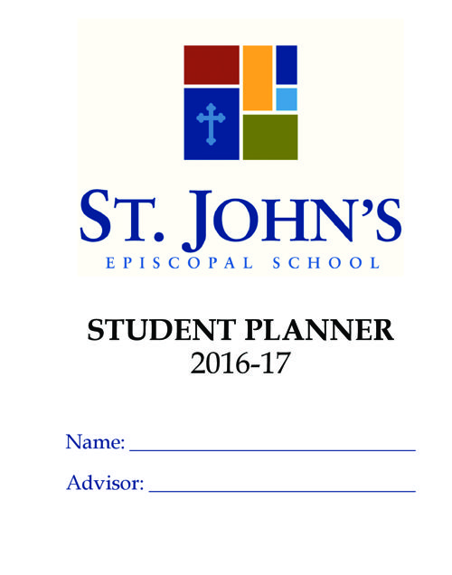 Middle School Planners_The School Planner Company