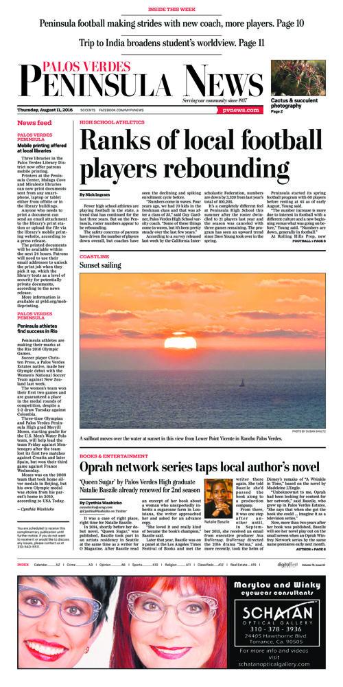 Peninsula News | August 11, 2016