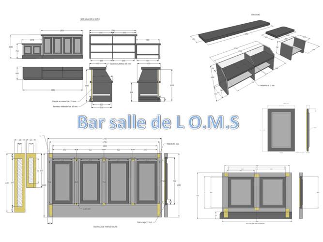 Pan bar salle O.M.S