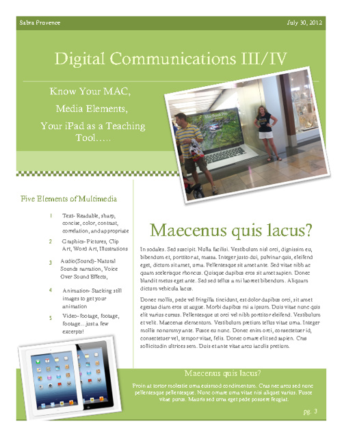 Digital Communications: What Have I Learned?
