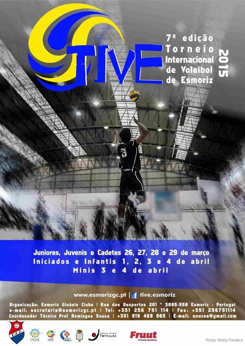 TIVE2015 - Torneio Internacional de Voleibol de Esmoriz - Portug