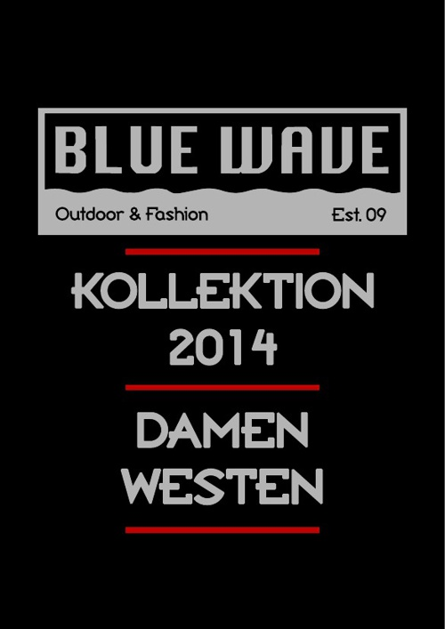 DAMEN WESTEN BLUE WAVE KATALOG 2014