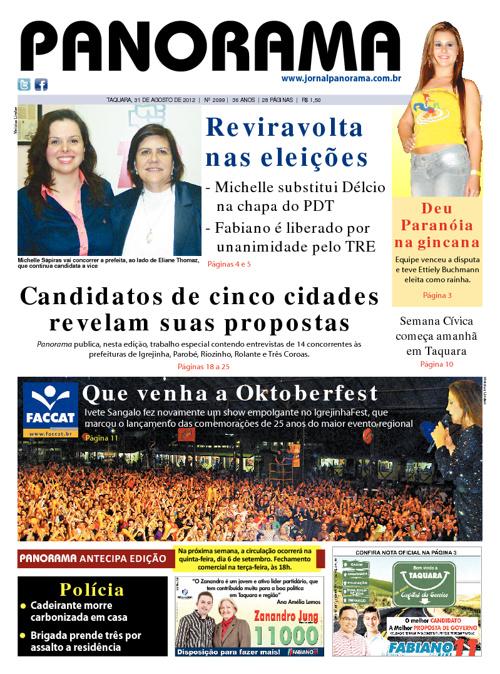 Panorama 31/08/2012 - Taquara/RS