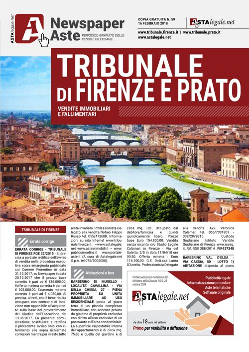 Firenze Prato 16 febbraio 2018