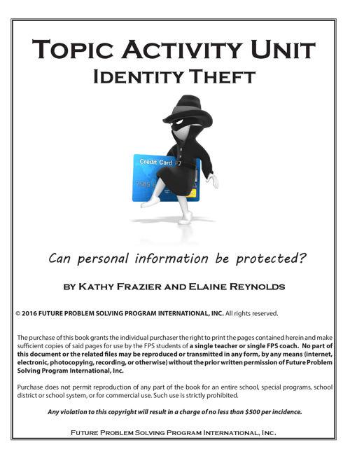 2016-17 TAU Identity Theft