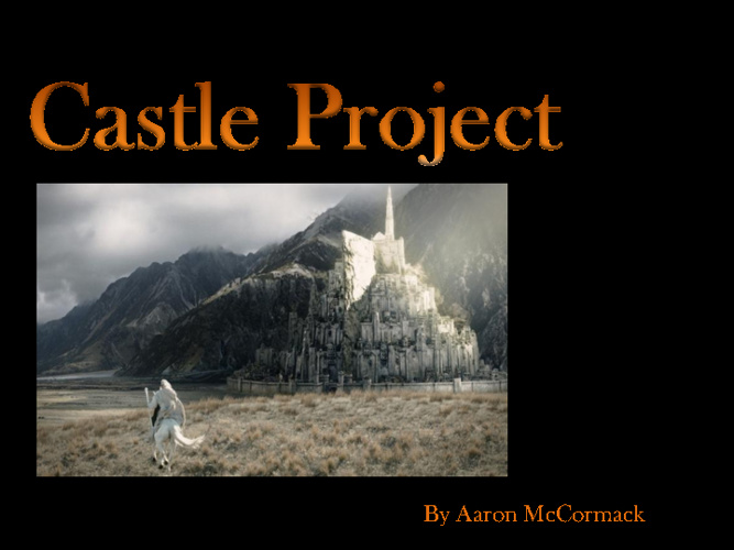 G7 Castle Aaron McCormack