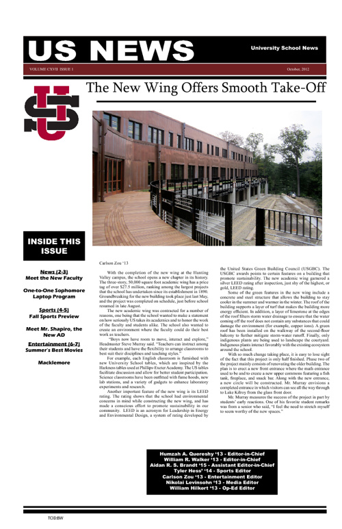 US News October 2012