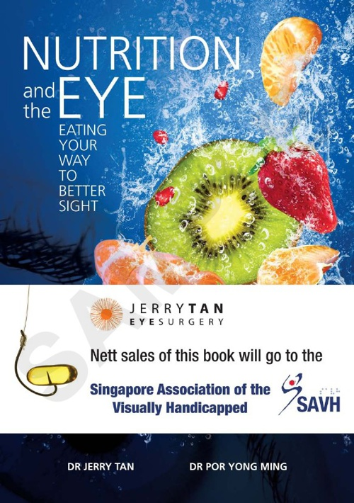 NUTRITION and the EYE BOOK (Sample Pages)