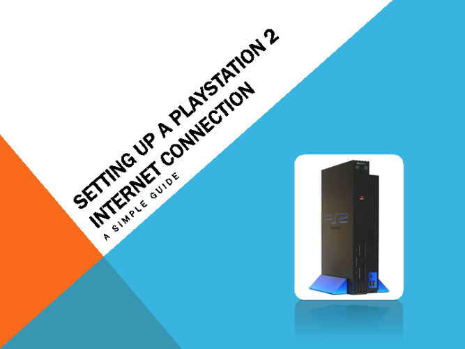 Setting up a Playstation 2 internet connection