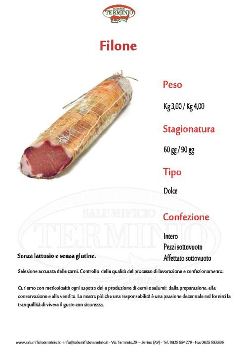 Schede prodotto:FILONE, FIOCCHETTO, GUANCIALE