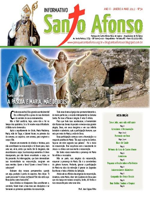 Informativo Santo Afonso 2012-1