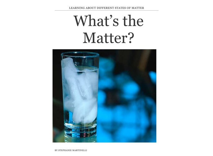 What's The Matter eBook