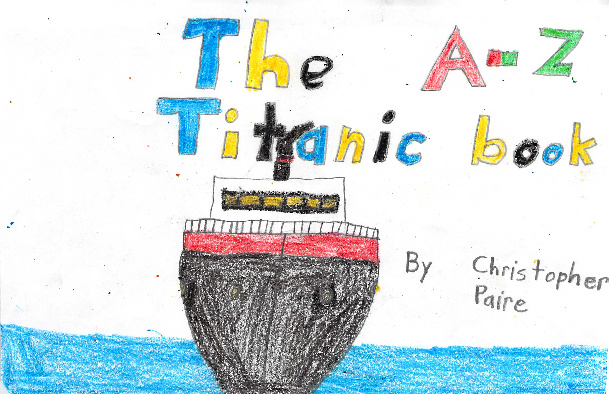 The A-Z Titanic Book by Christopher