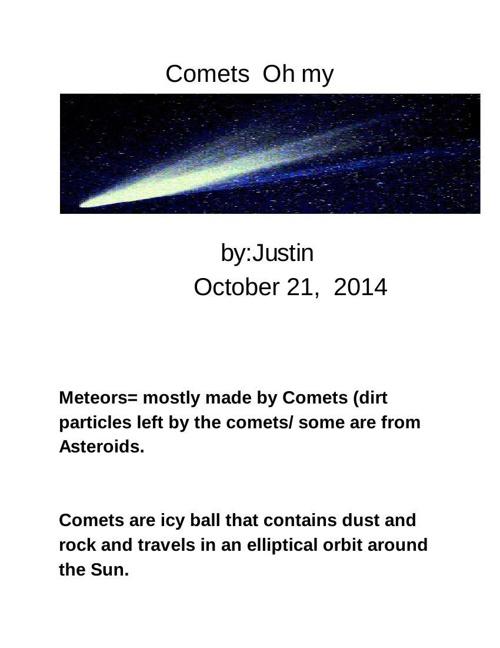 Comets - Justin Arya - Google Docs