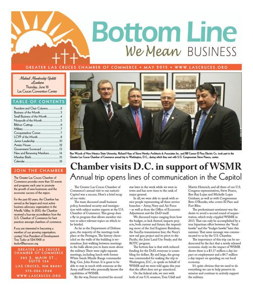 The Bottom Line May 2015