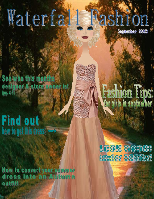 Waterfall Fashion Magazine