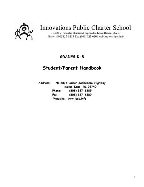 2013/14 Parent Handbook