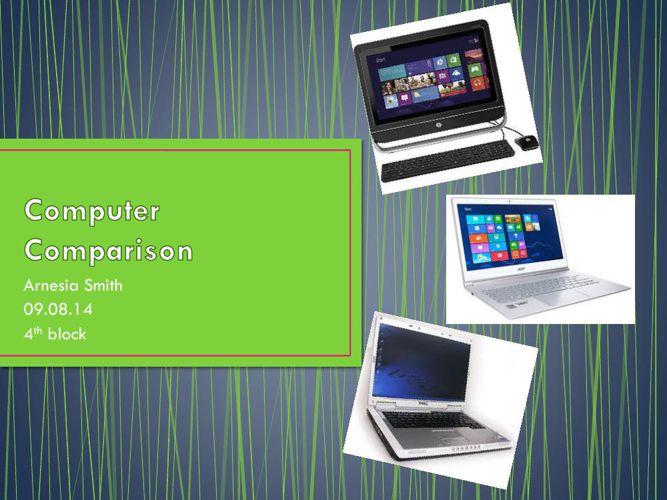 StudentExample_Computer Comparisonpartofpj
