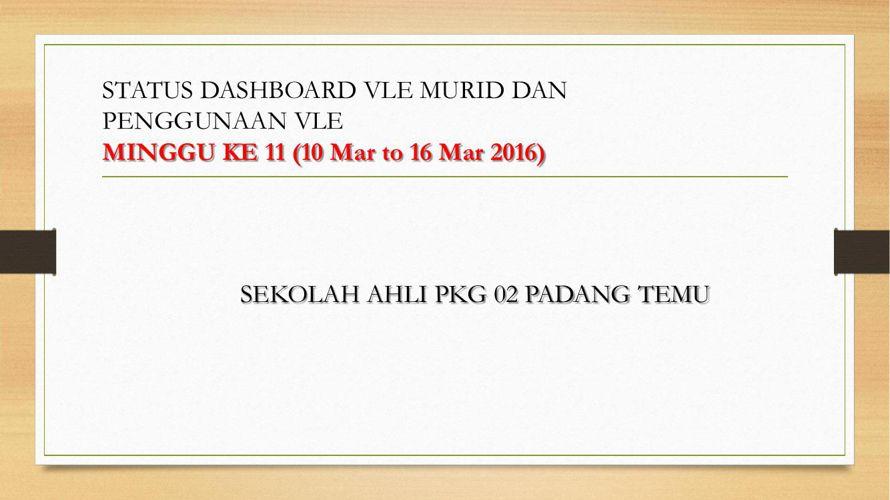 PKG PT_Report KPI SKBC Minggu 11A