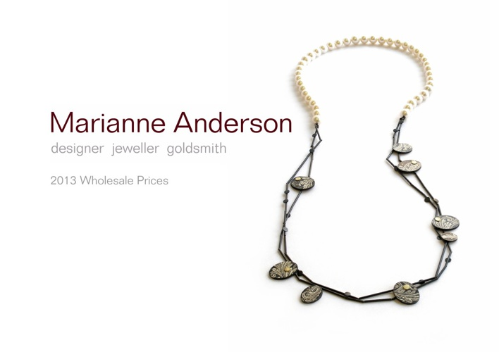Marianne Anderson 2013 Catalogue