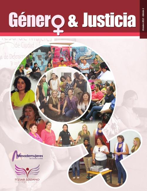 Boletín 1. Género y Justicia.