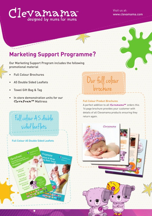 Clevamama Marketing Support Programme