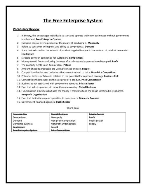 Unit 3 CDA Study Guide