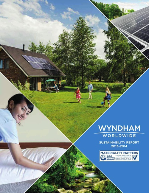 2013 Wyndham Green Sustainability Report (PDF X)