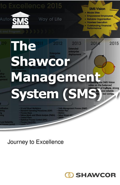 SMS Journey to Excellence Booklet (May 2016)