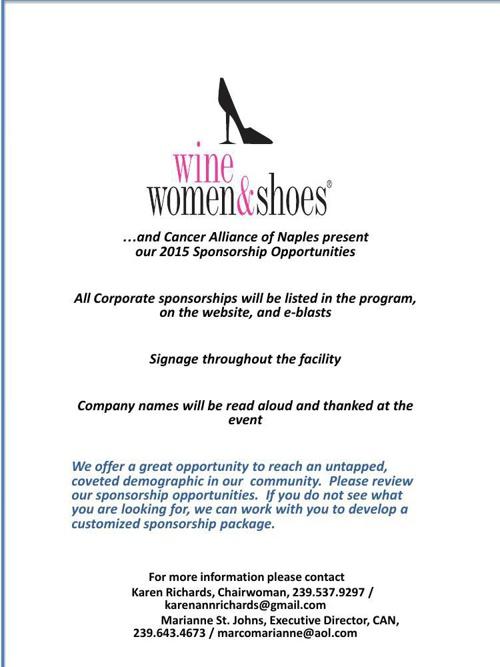 WWS 2015 Sponsorship
