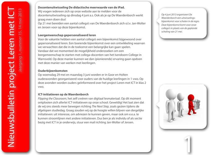 Nieuwsbulletin Leren met ICT, jaargang 1, nummer 15