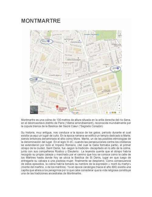 Guía de Montmartre