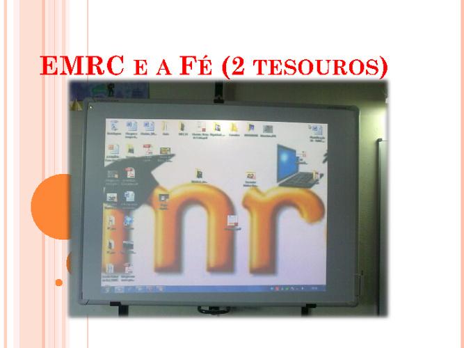 EMRC e a Fé (2 tesouros)