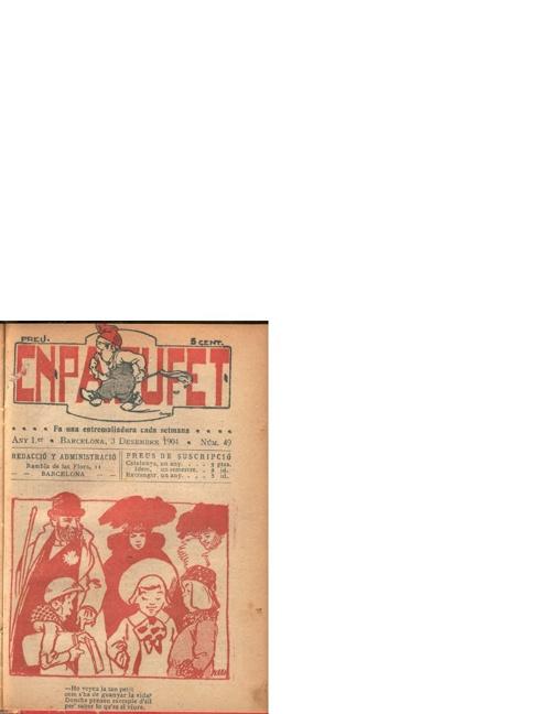 En Patufet num 49 desembre 1904
