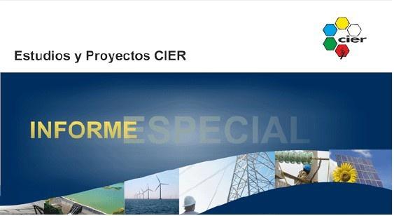 Estudios y Proyectos CIER 2013